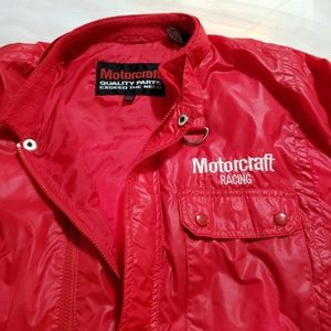 motocraft Jackets & Coats - True vintage motorcraft racing moto style jacket